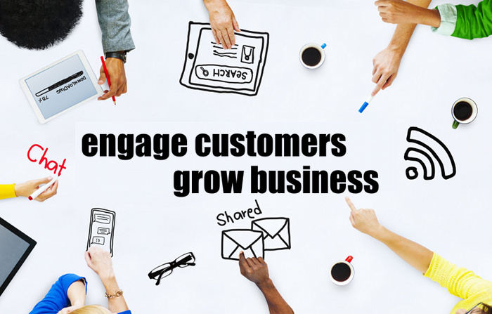 Engage with customers and Grow your brand on oGoing
