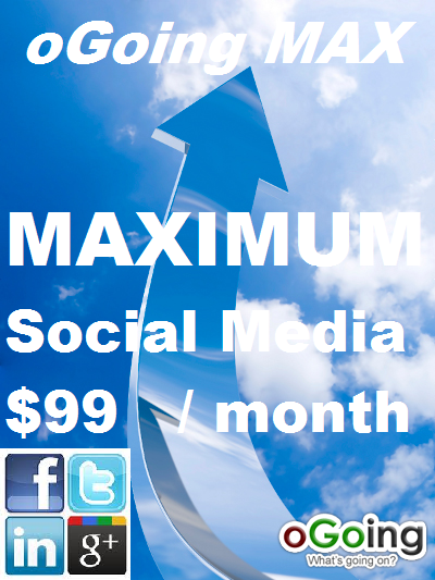 oGoing Max - Affordable Social Media Marketing Service for Small Business