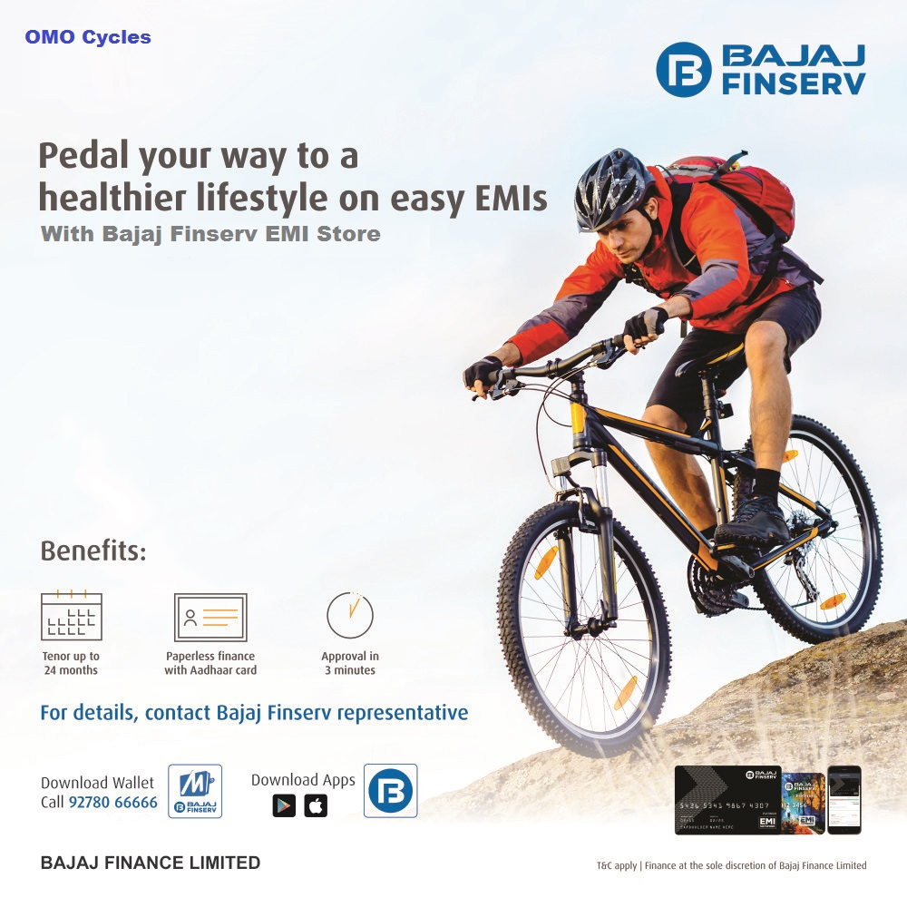 Deals | Big Discount on OMO Cycle in The Grand EMI Festiva